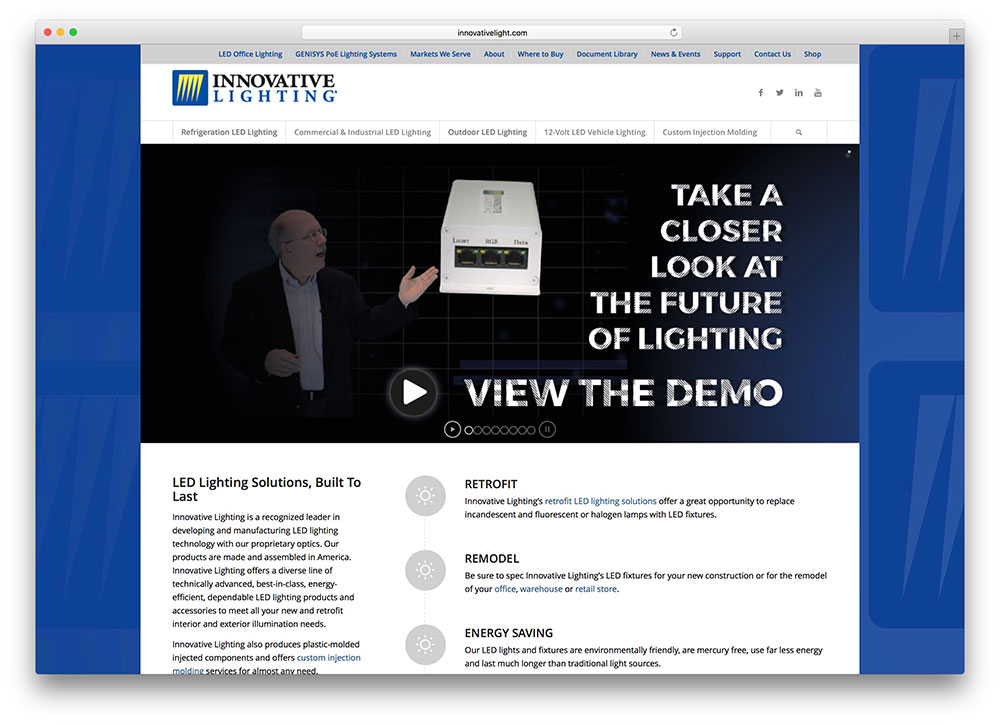 innovativelight-led-lights-tech-site-example