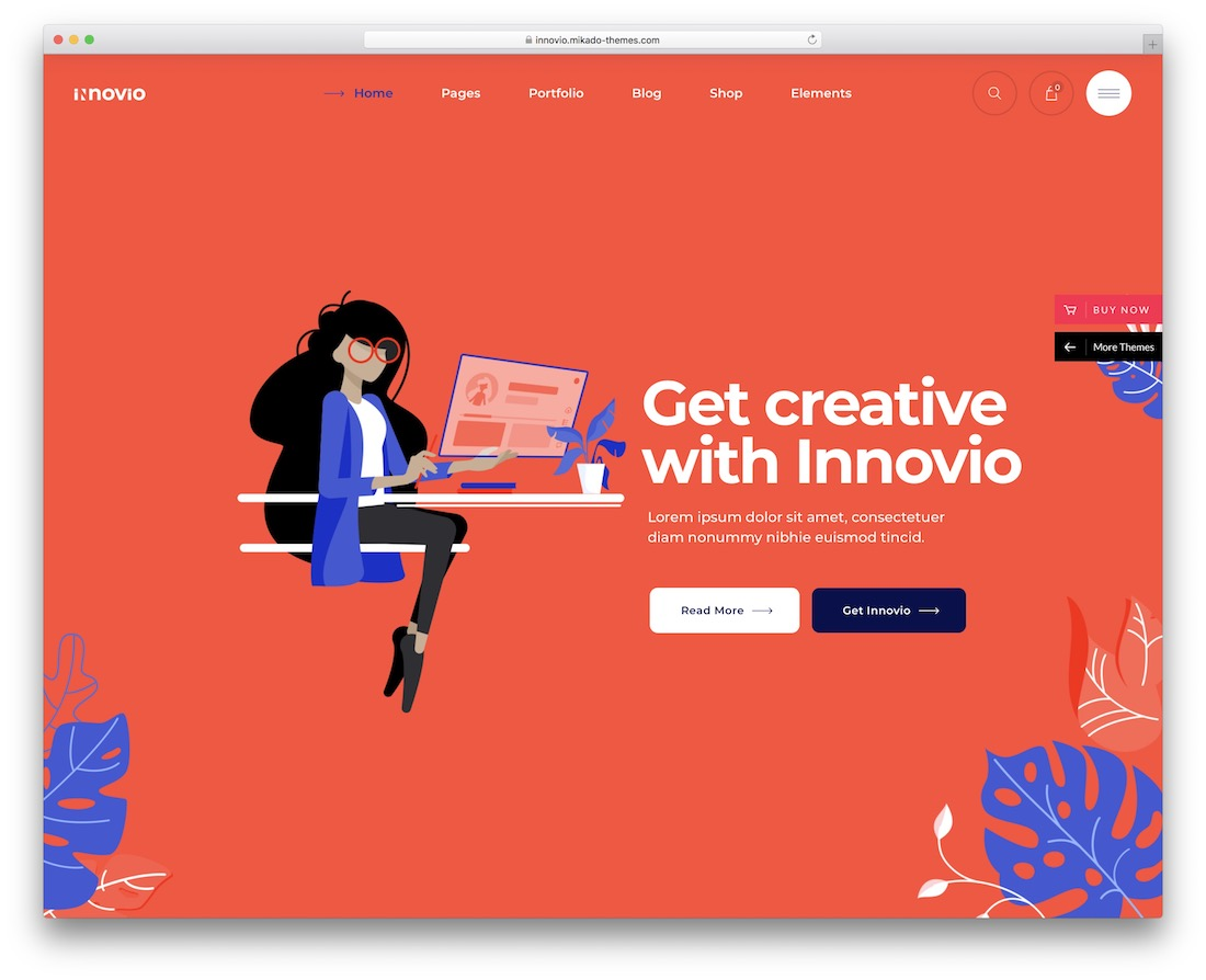 innovo it company wordpress theme
