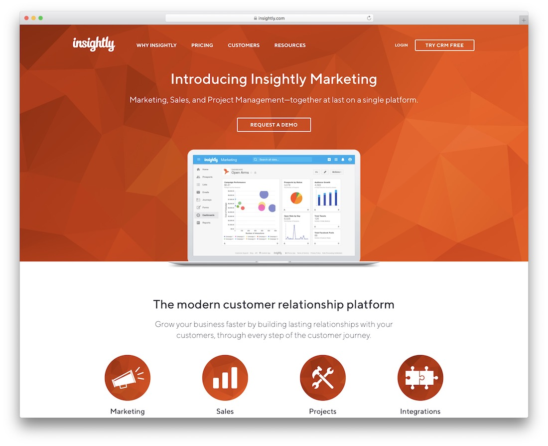 insightly free productivity tool
