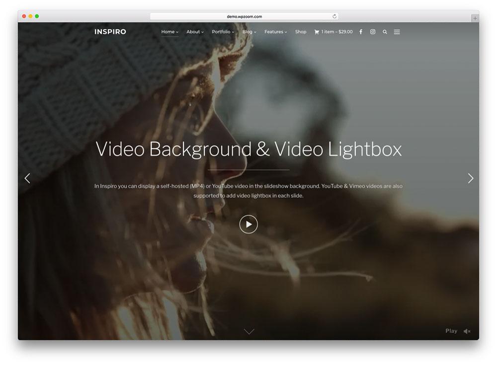 30+ Best Full Screen WordPress Themes 2019 - Colorlib