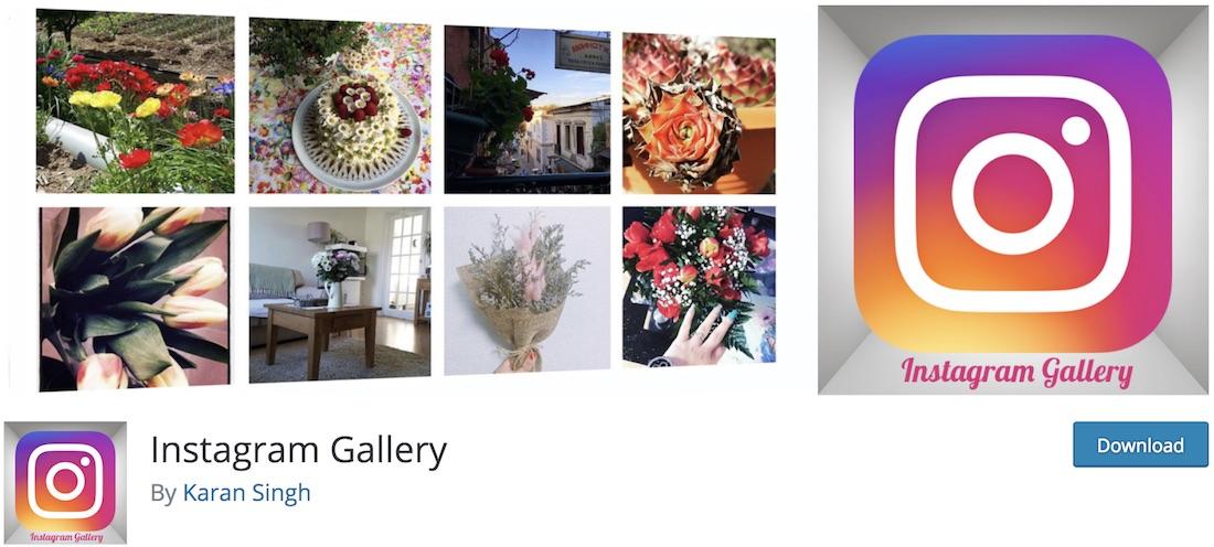 instagram gallery free plugin