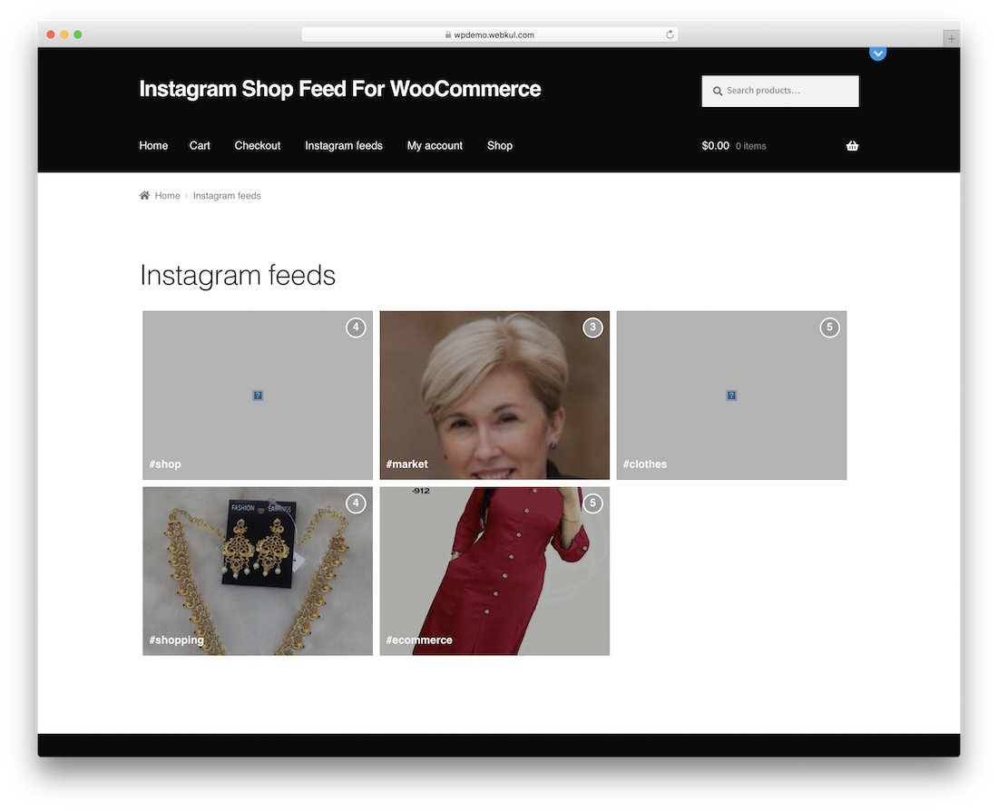 instagram shop feed for woocommerce