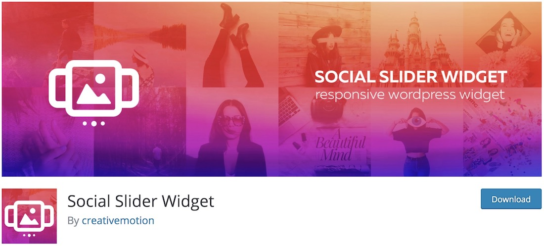 instagram slider widget free wordpress plugin
