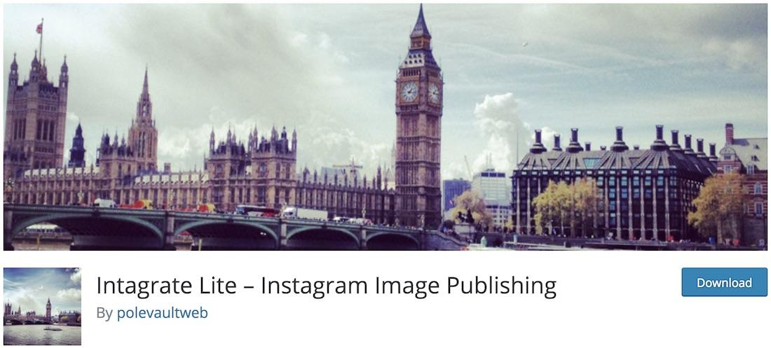 instagrate to wordpress free plugin
