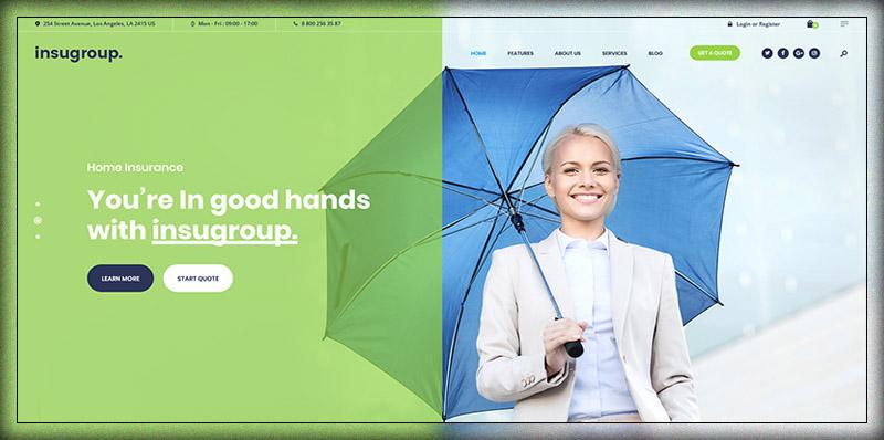 Insugroup | Insurance & Finance Theme