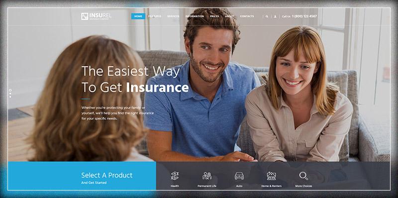InsuRel | Insurance & Finance Theme