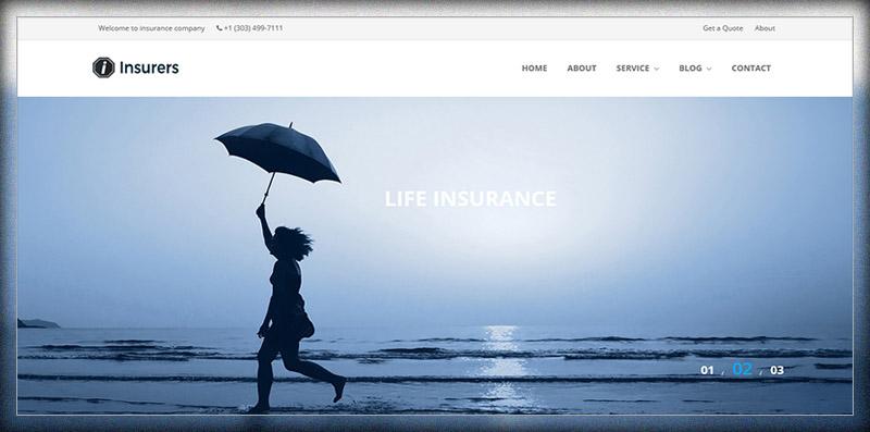 Insurers - Insurance Agency WordPress Theme