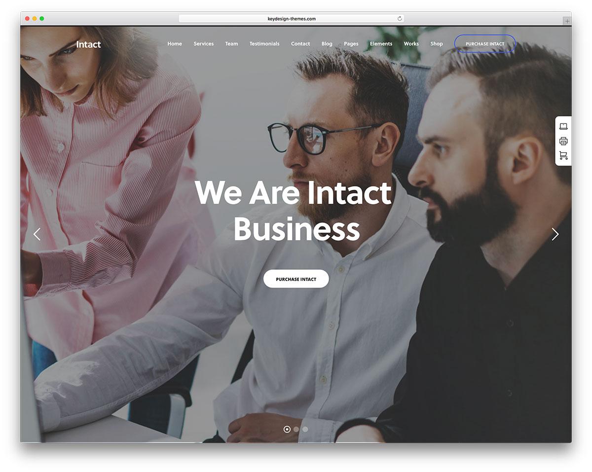 30 Best Small Business WordPress Themes 2018 - Colorlib
