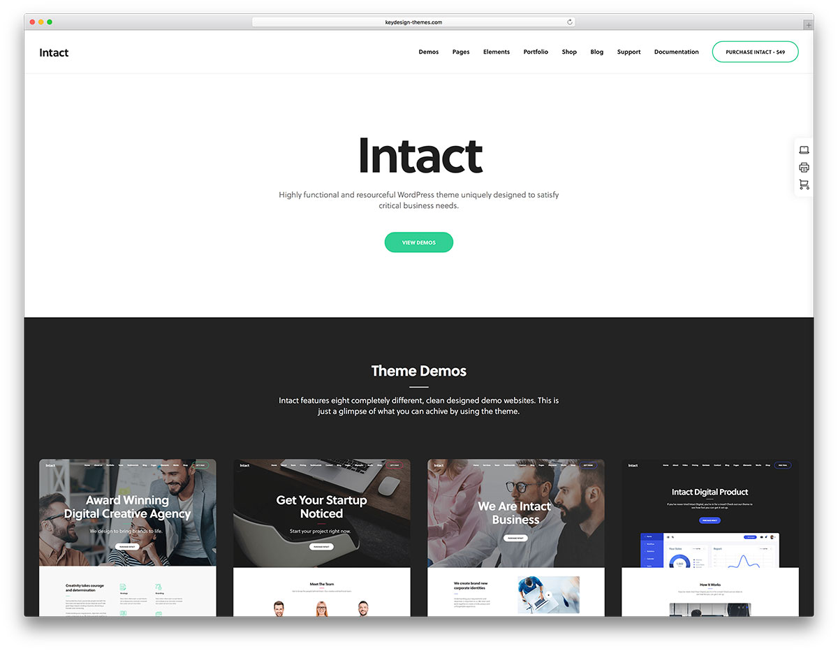 The most popular premium wordpress themes of 2018 colorlib intact is a multipurpose wordpress theme ideal for you as a magical master tool it is completely customizable and has absolute compatibility with most pronofoot35fo Image collections