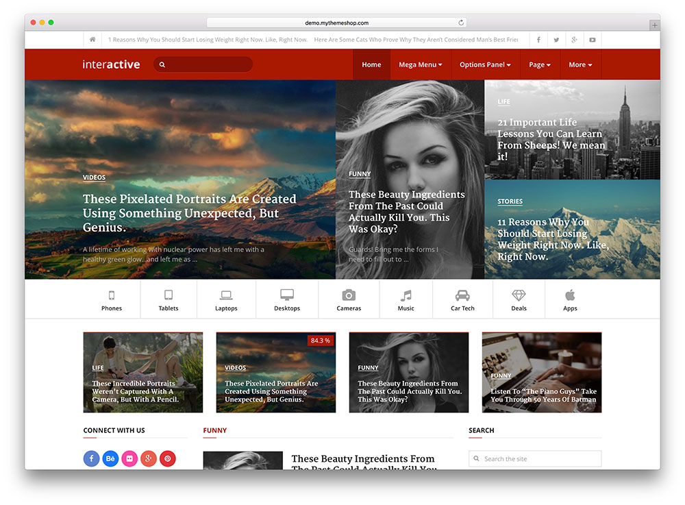 Wordpress themes for dating site