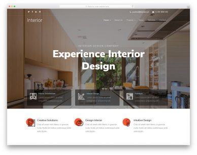 Interiordesign Free Template