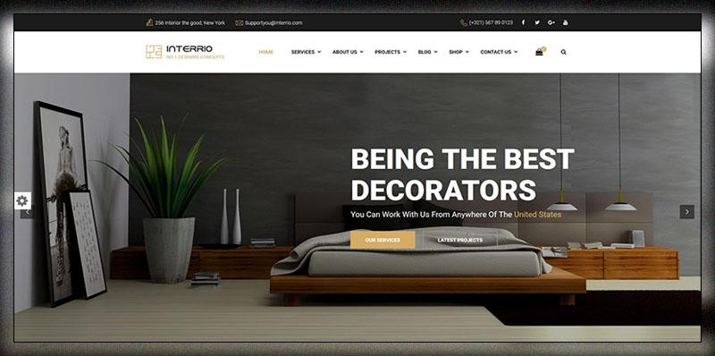 25 Best Interior Design WordPress Themes 2019 - Colorlib