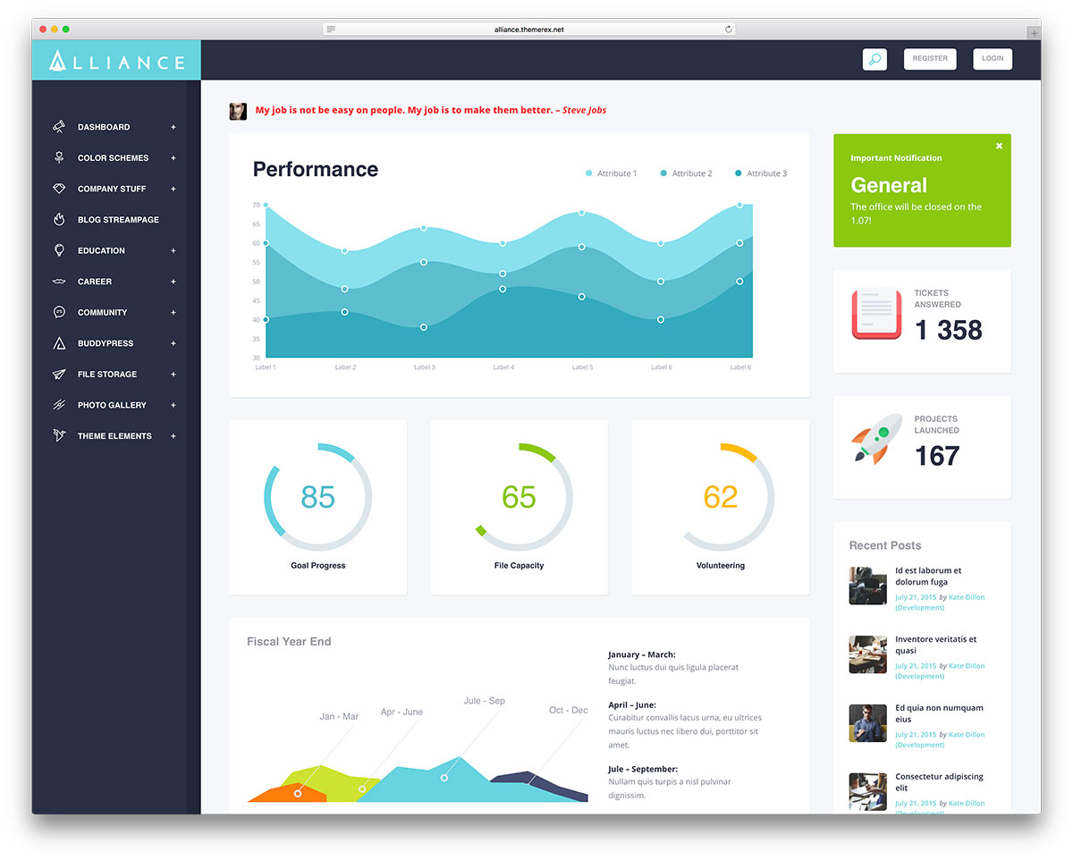 10 WordPress Themes To Create A Company Intranet Or Extranet 2019