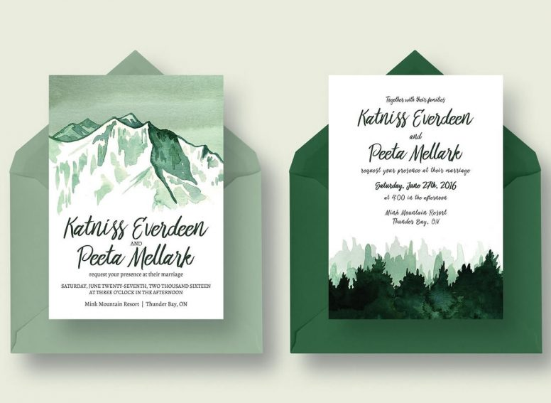 18 Gorgeous Invitation Templates For Weddings