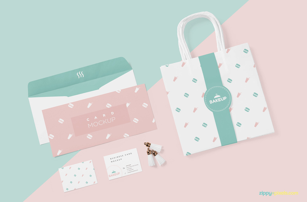 invitation tote bag psd mockup free