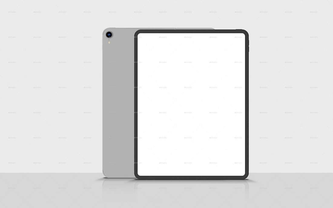 ipad pro responsive screen mockup