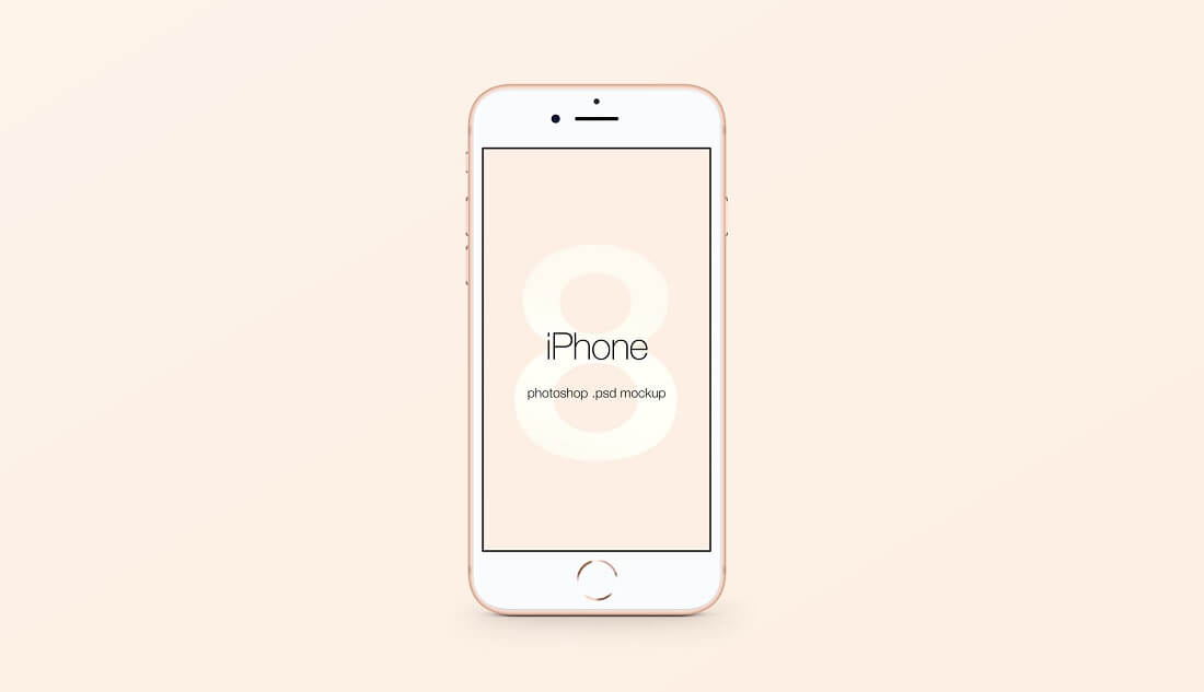 Mockup Application Iphone