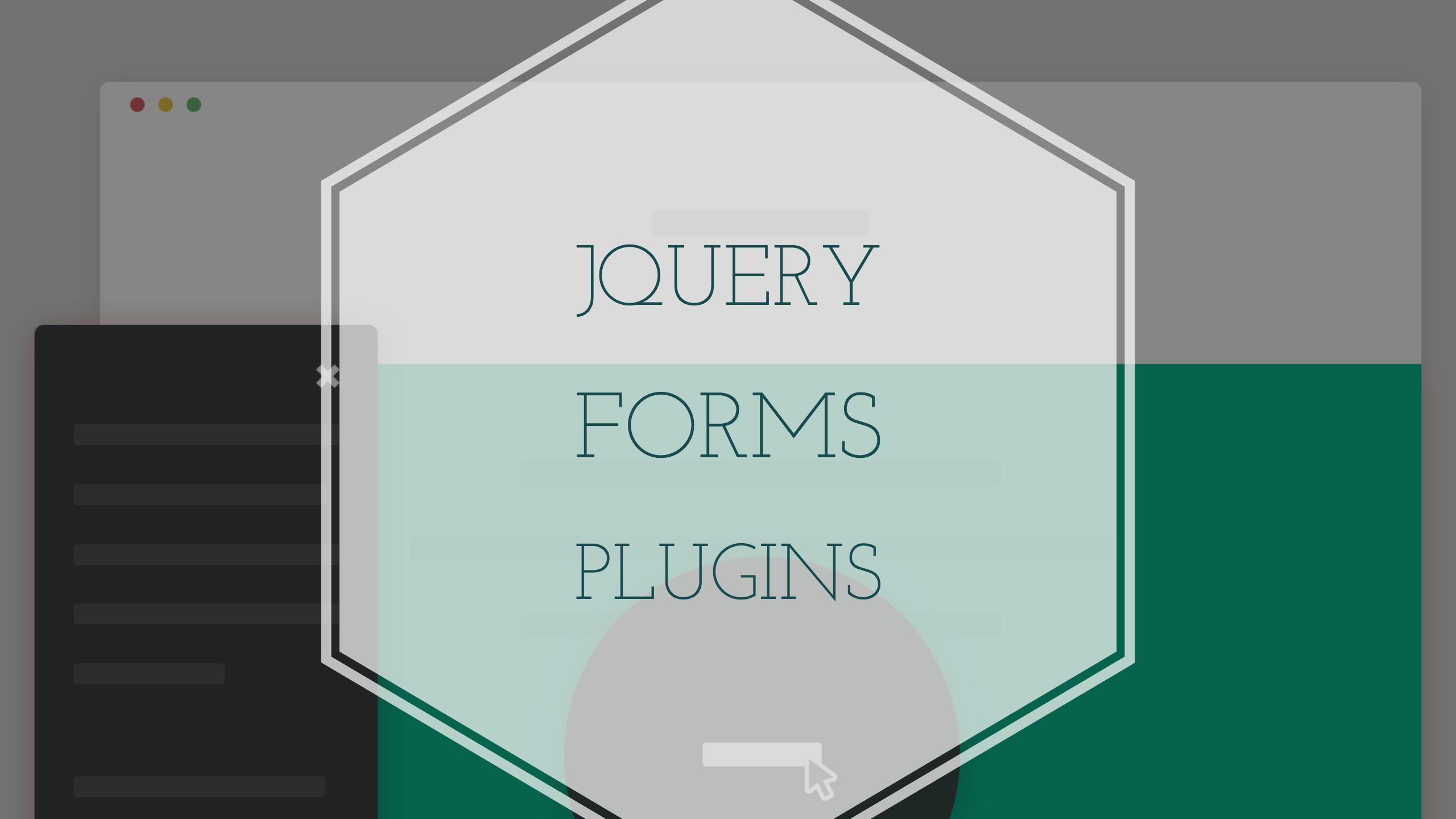 Top 26 JQuery Form Plugins And Effects 2019