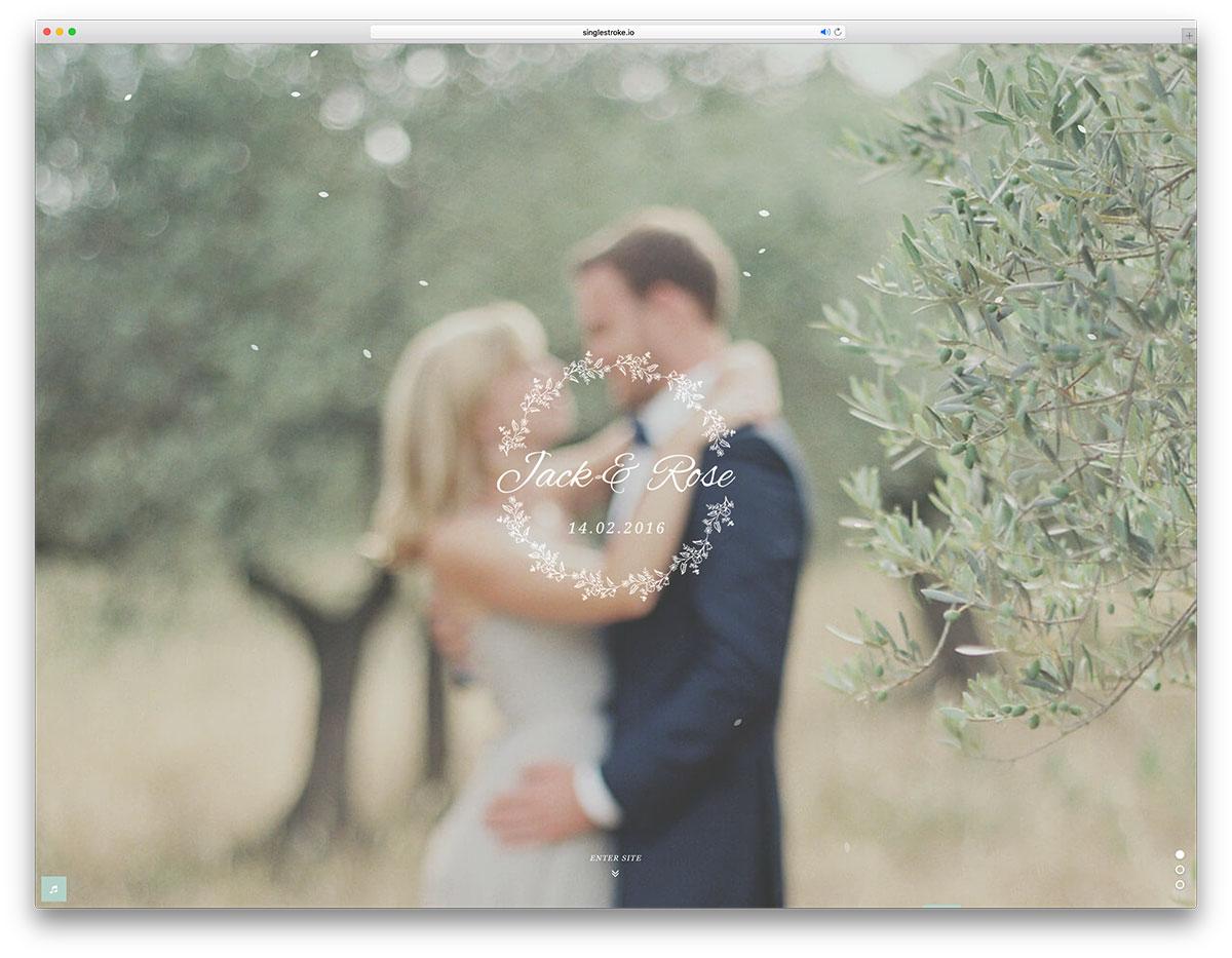 jack-rose-creative-wedding-website-template