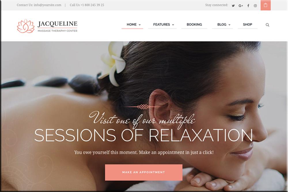 Jacqueline | Spa & Massage Salon Theme