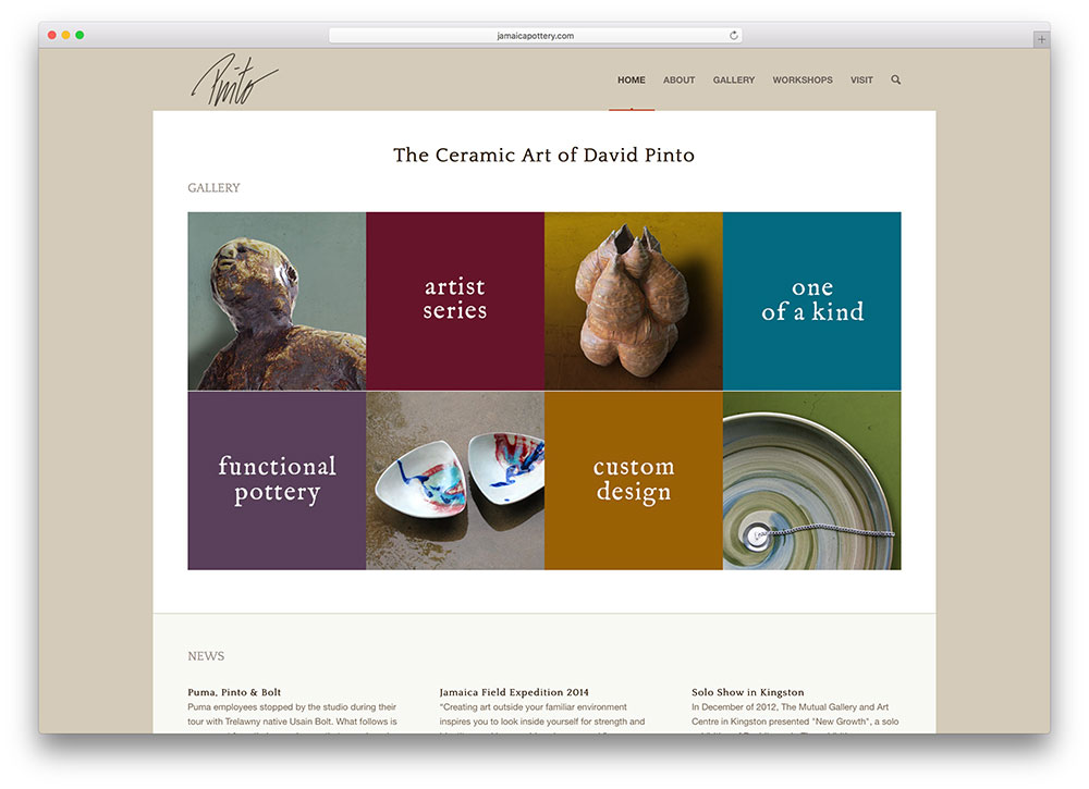 jamaicapottery-ceramic-art-site-using-enfold-wp-theme