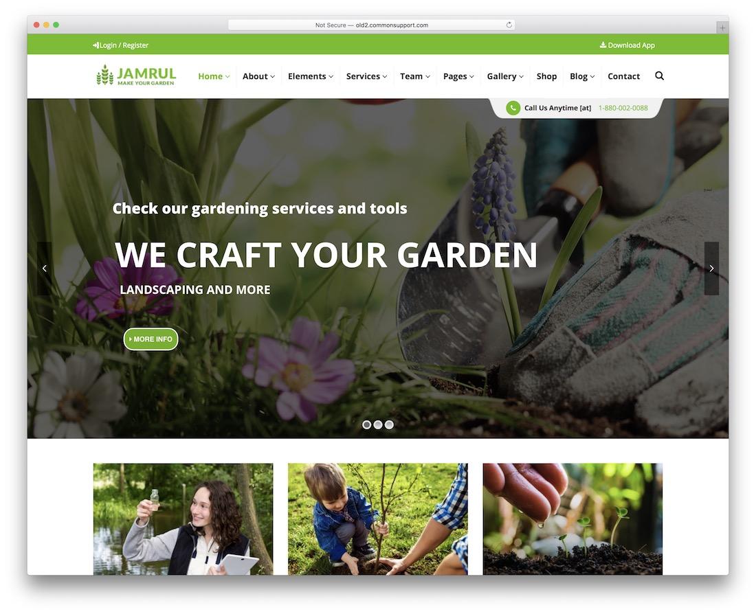 jamrul flower website template