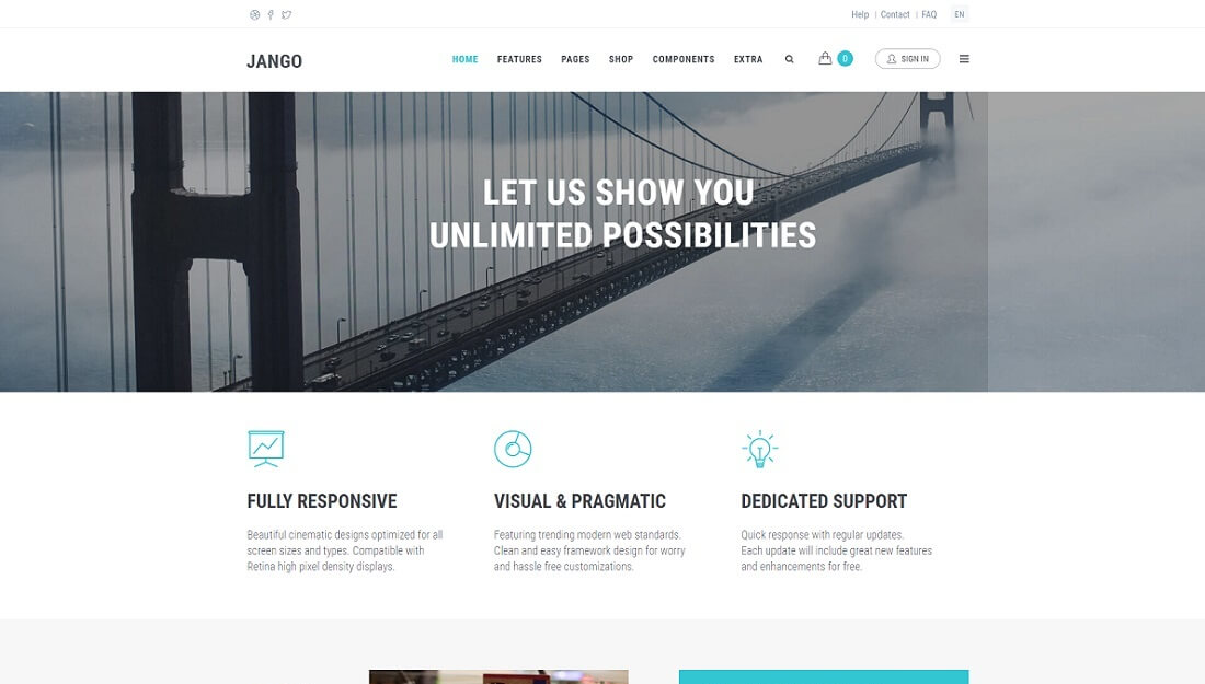 jango drupal commerce template