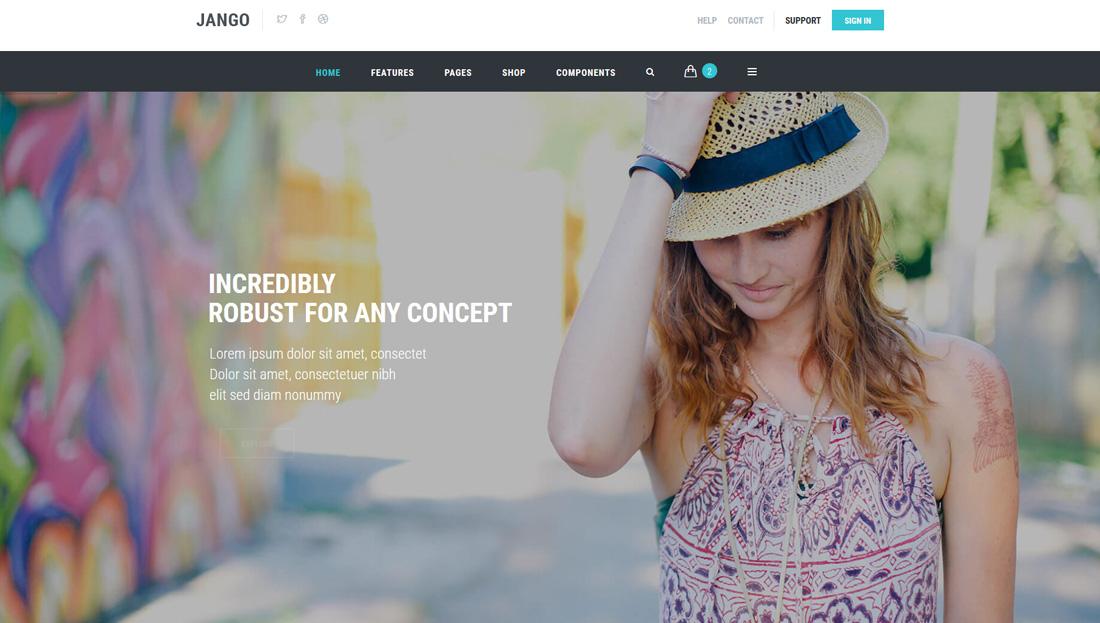 jango-interactive-website-templates