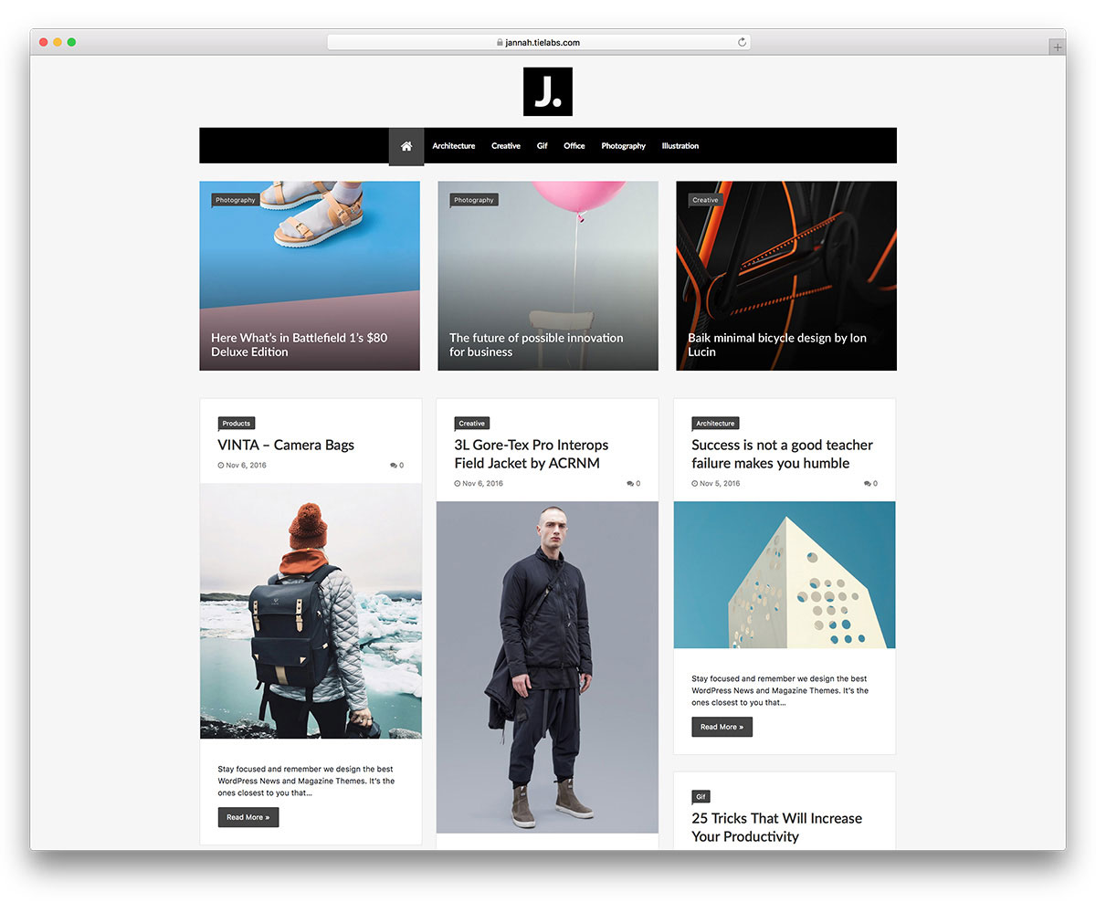 , 32 Most Popular WordPress Blog Themes 2019, Rojak WP