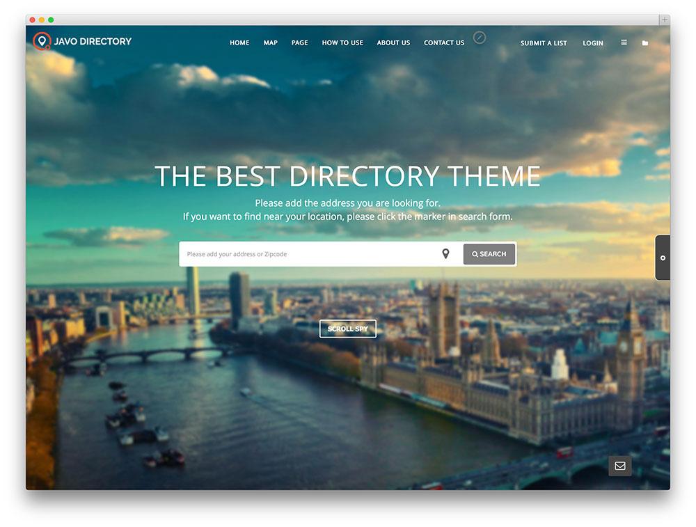 javo - creative directory theme