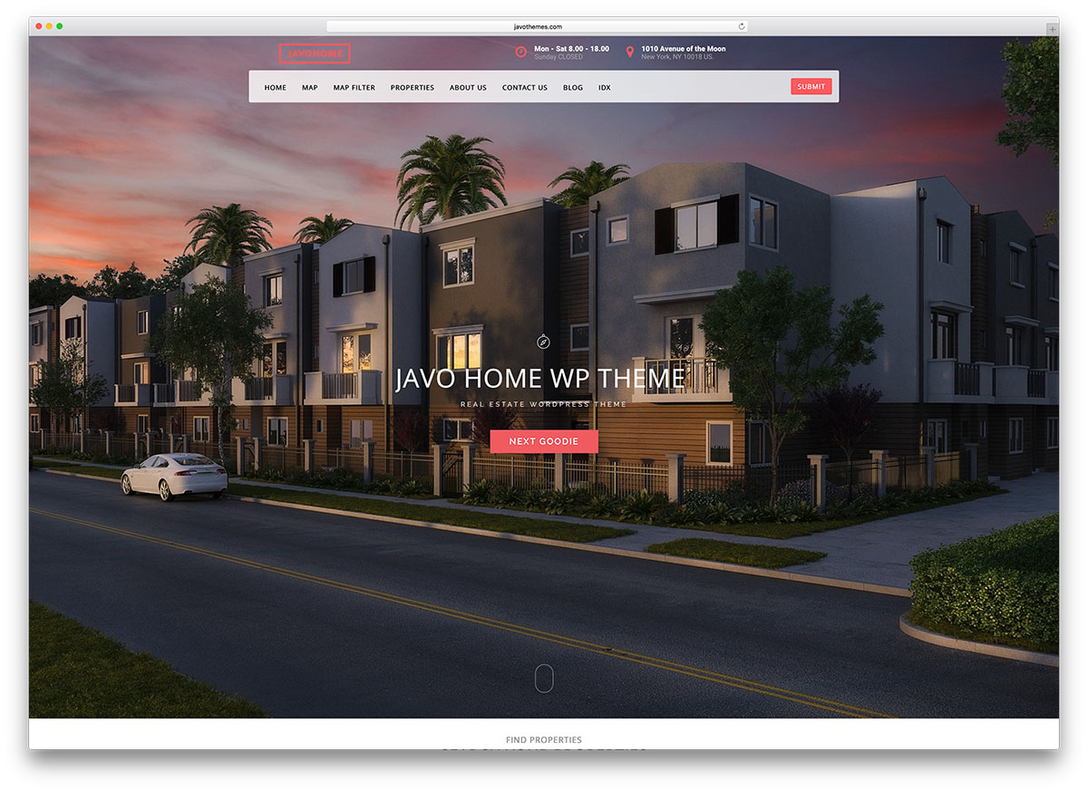 javo-real-estate-wordpress-website-template