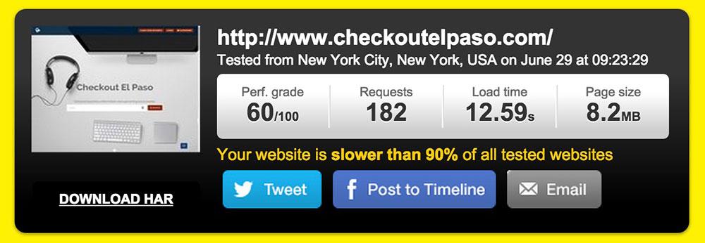 javo website performance