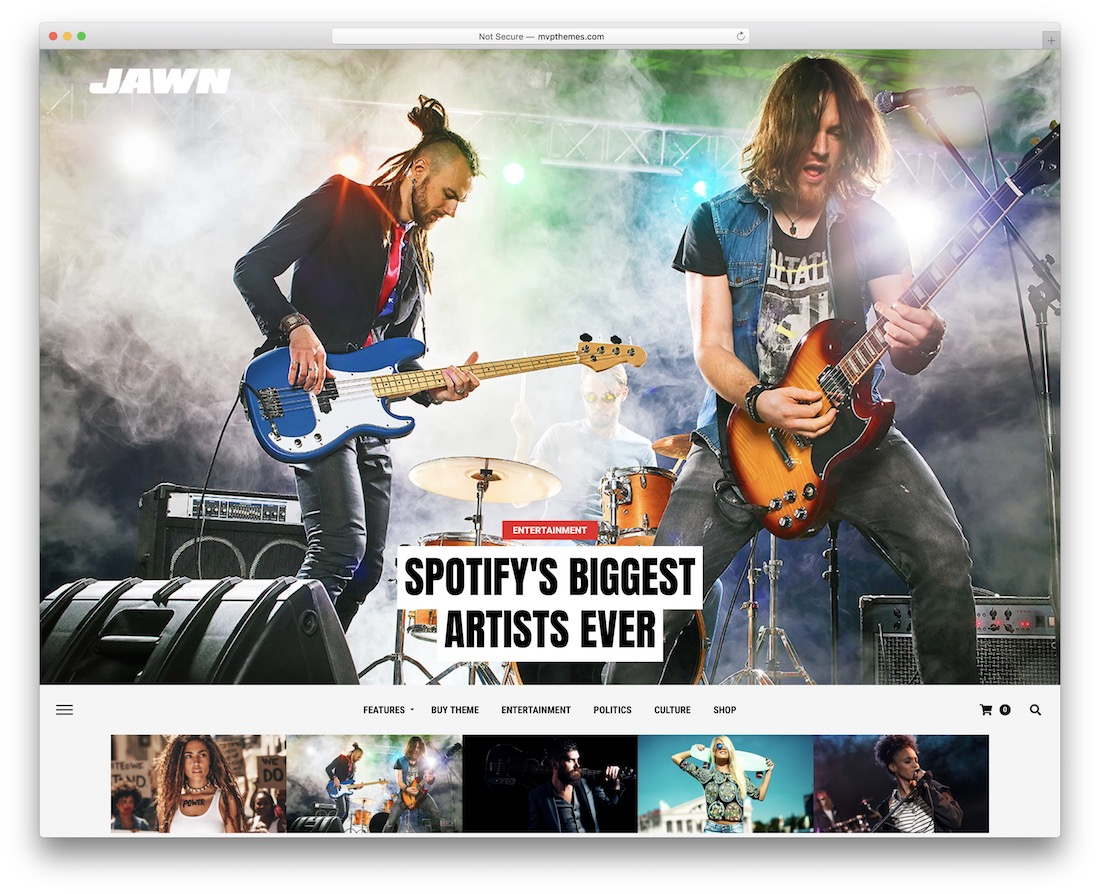 jawn amp theme