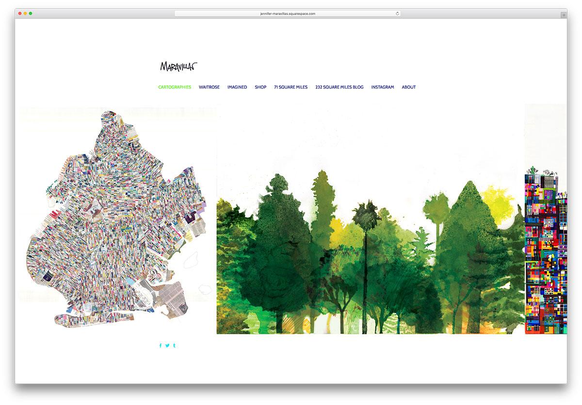 jennifer-maravillas-squarespace-site-example