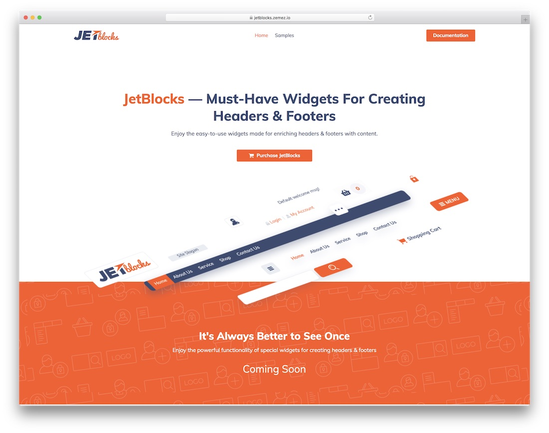 jetblocks wordpress footer plugin