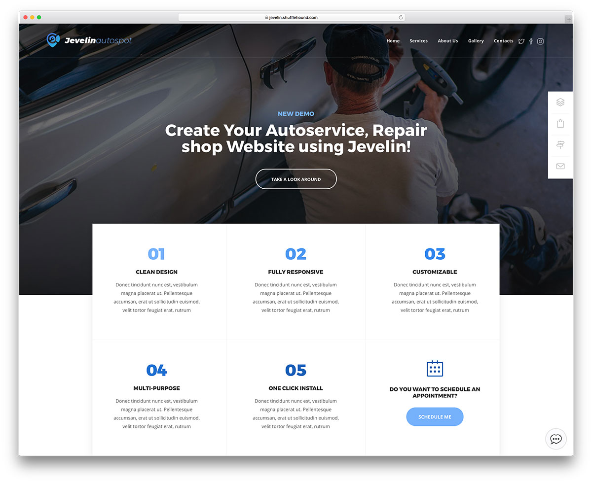 20 premium modern bootstrap business website templates 2018 colorlib jevelin is an incredibly versatile wordpress theme useful for many different users it suits any kind of businesses though it has keen emphasis on visual friedricerecipe Gallery