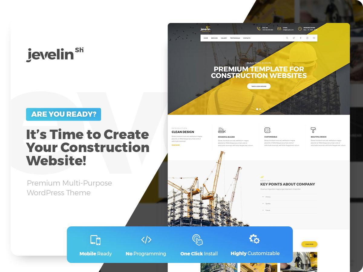 49 Best Construction Company Wordpress Themes 2019 Colorlib