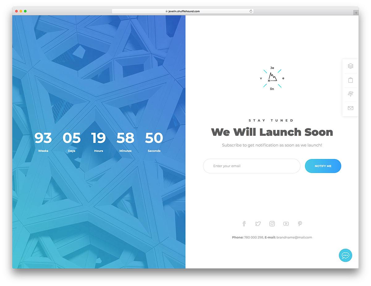 20+ Free & Premium Coming Soon WordPress Themes & Plugins 2019