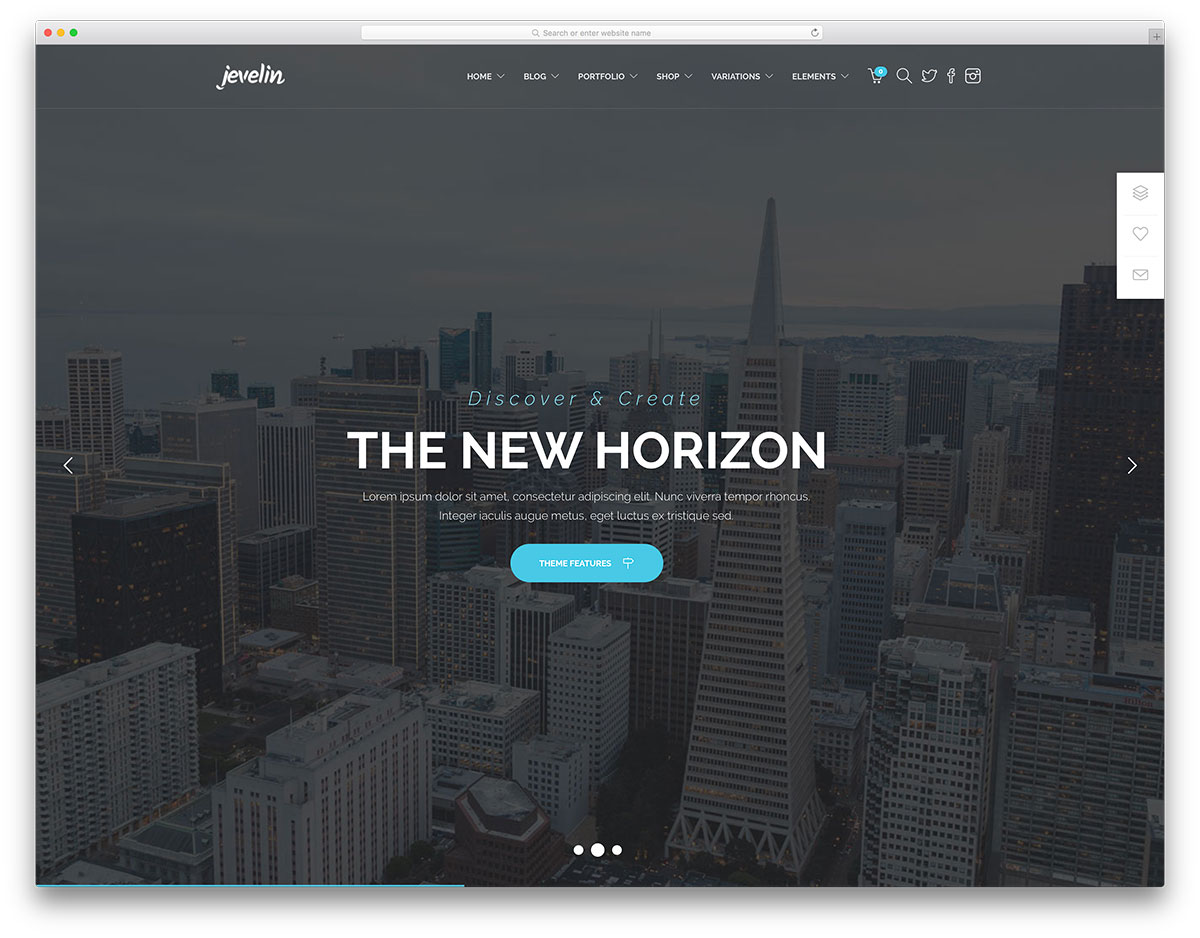 jevelin-fullscreen-business-landing-page