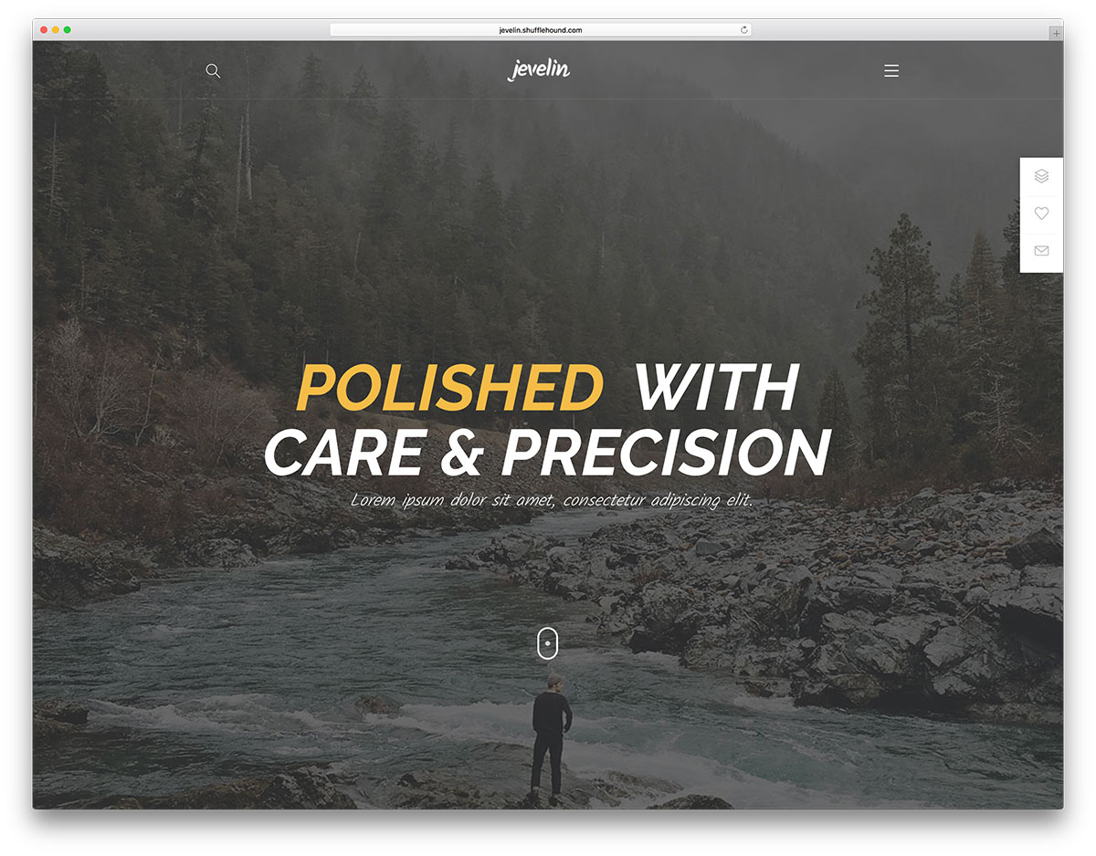 jevelin-nature-inspired-website-theme
