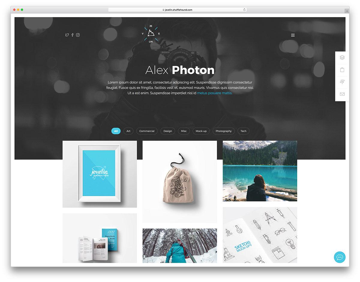 Portfolio Templates | 28 Best Portfolio Website Templates Html Wordpress 2019 Colorlib