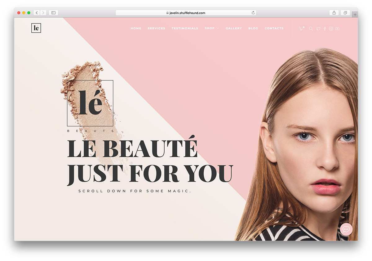 One Of The Most Por WordPress Themes Now Has A Demo For Spa Beauty Salons And You Guessed It Looks Absolutely Gorgeous