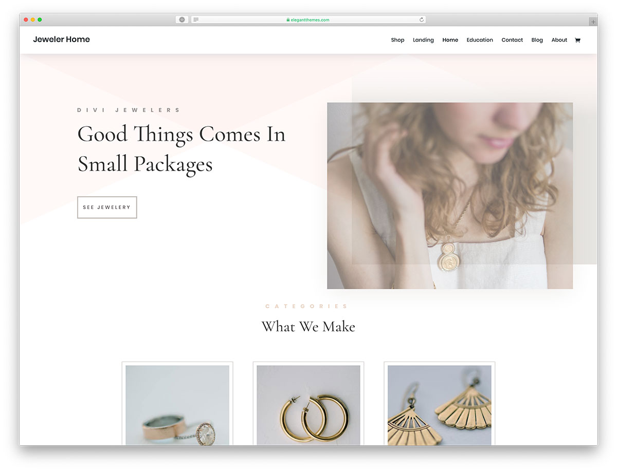 jeweler WordPress theme