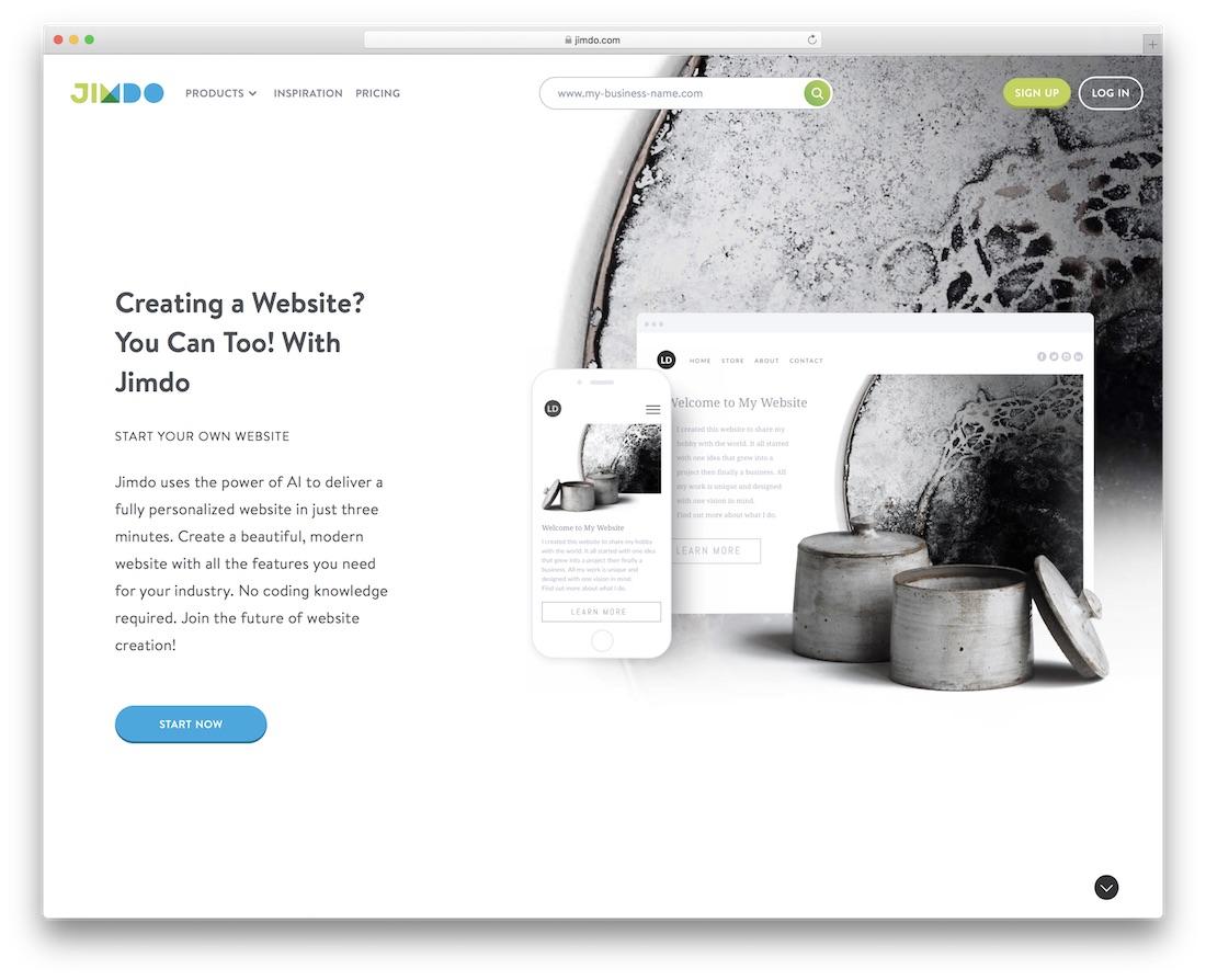 jimdo school and teacher website builder
