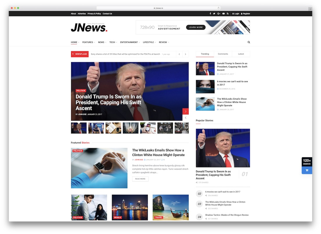 jnews amp theme