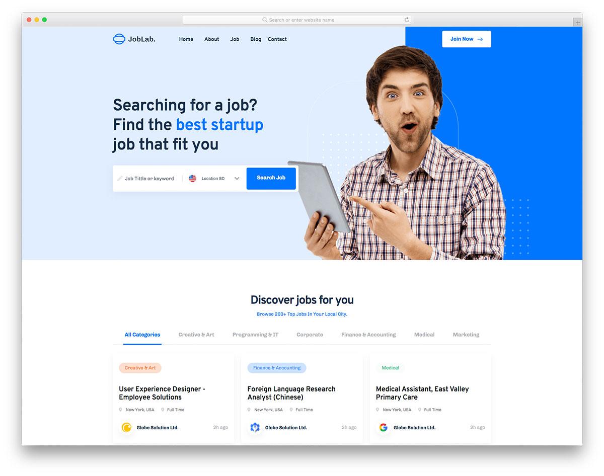 Joblab Colorlib Template