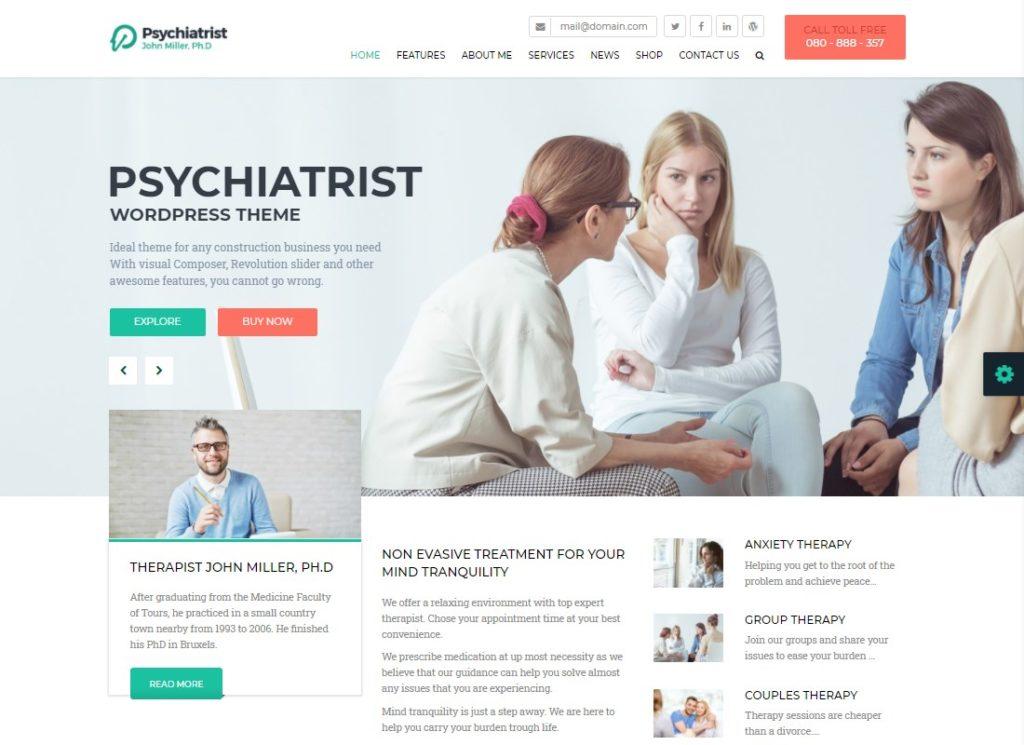 Psychiatrist | WordPress Theme