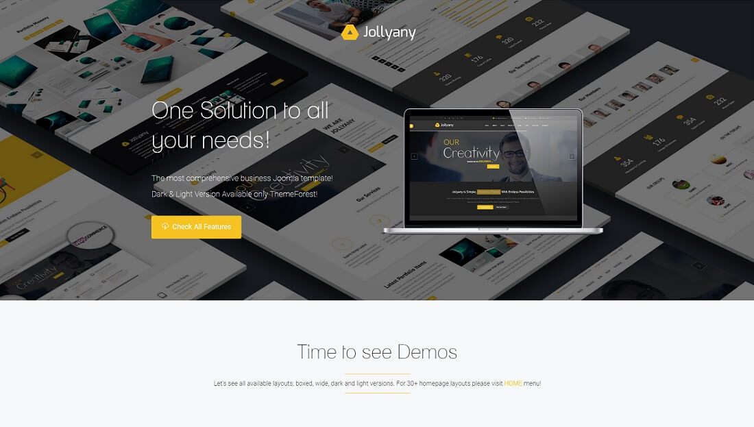 jollyany joomla business template
