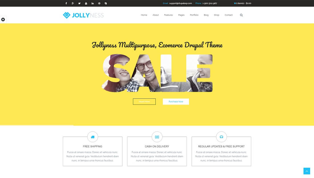 jollyness drupal commerce template