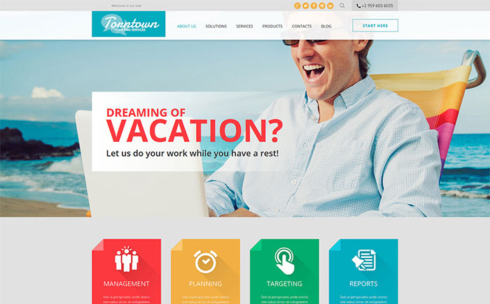 ng Business Joomla Template